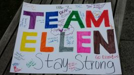 Team Ellen Poster