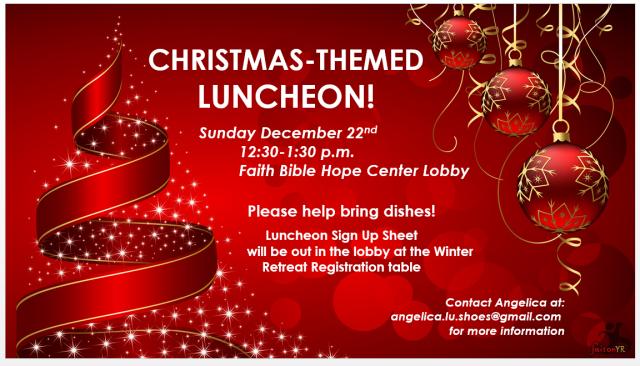 Our Christmas Program for This Week! | Faith Bible Church ...